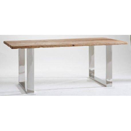 STAINLESS TABLE DE REPAS 200CM