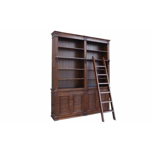 Bibliothèque échelle en 6 parties Bibliothèques - 1