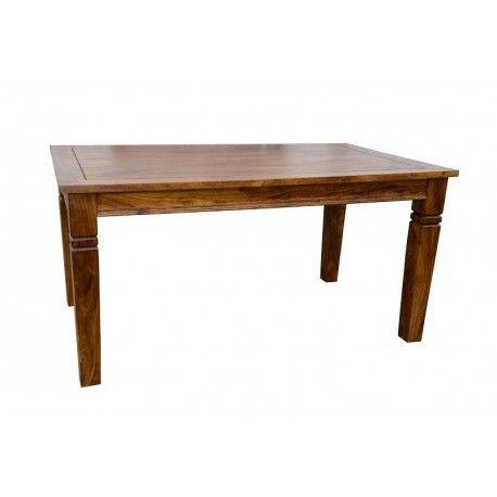 KAVISH TABLE DE REPAS RECTANGULAIRE + ALLONGE