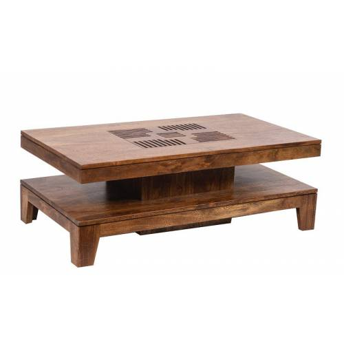 KAVISH II TABLE BASSE RECT 140X70 Tables basses rectangulaires - 1