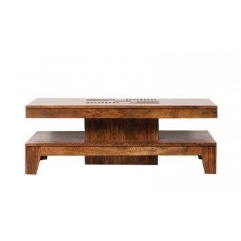 KAVISH II TABLE BASSE RECT 140X70 Tables basses rectangulaires - 2