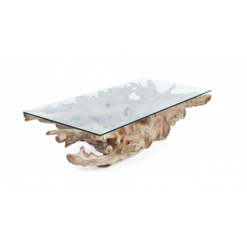 Racine table basse 120x60 Tables basses rectangulaires - 1