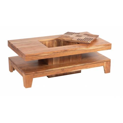 KAVISH II TABLE BASSE RECT PM Tables basses rectangulaires - 4