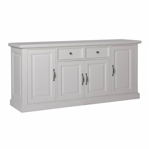 Bahut 4 portes 2 tiroirs romantique - meubles design