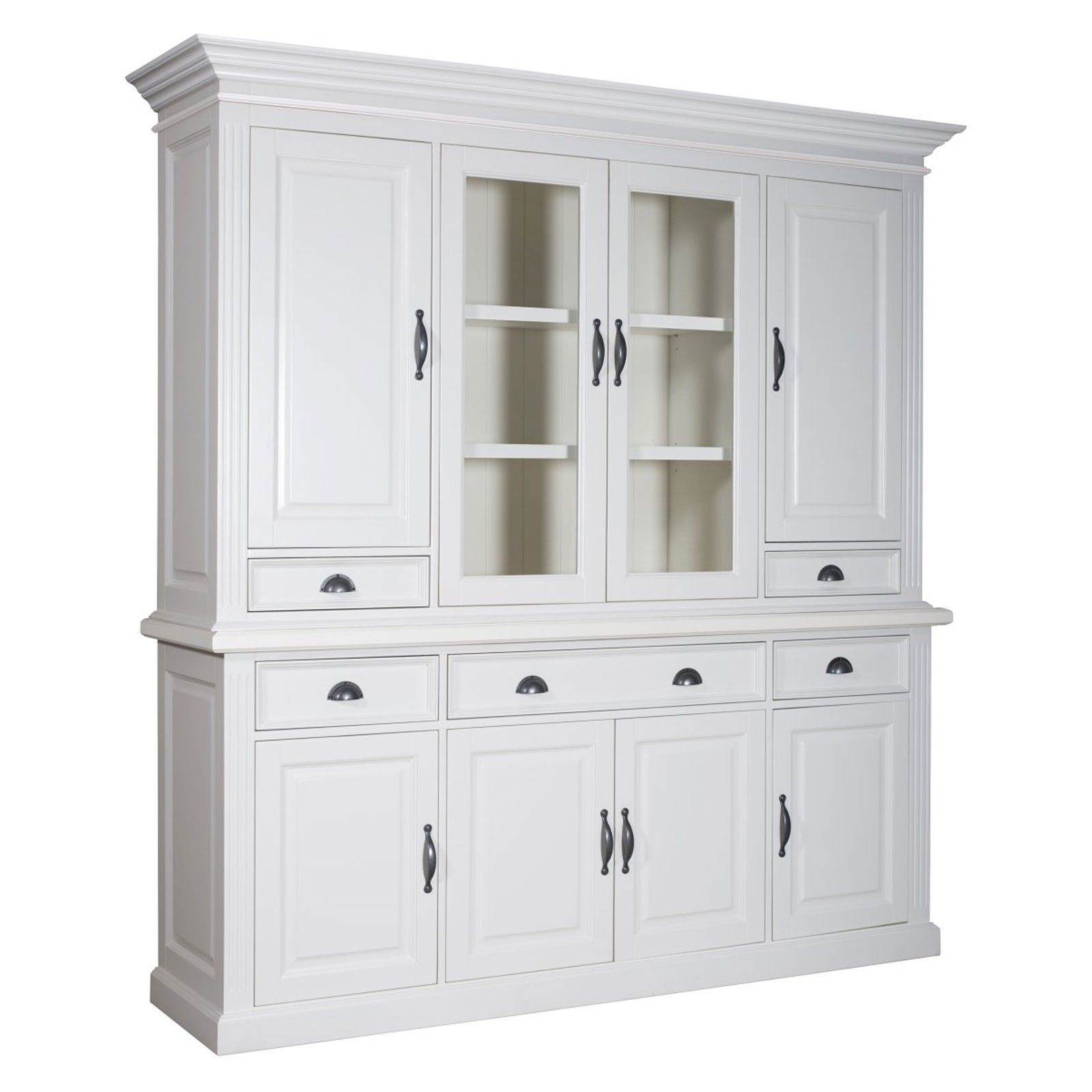 Cabinet 2x4 portes 5 tiroirs - achat mobilier chic