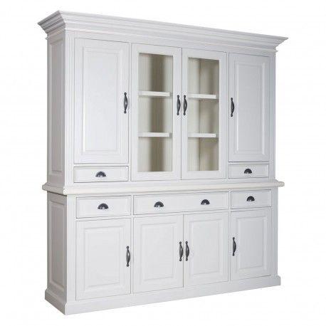 """Buffet vaisselier 2x4 portes 5 tiroirs """"Romance"""""""