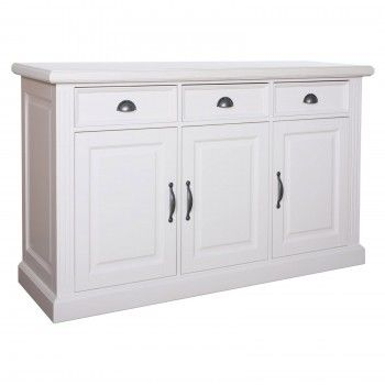 Bahut 3 portes 3 tiroirs au design chic