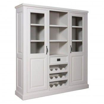 Cabinet 2 portes 1 tiroir au design chic
