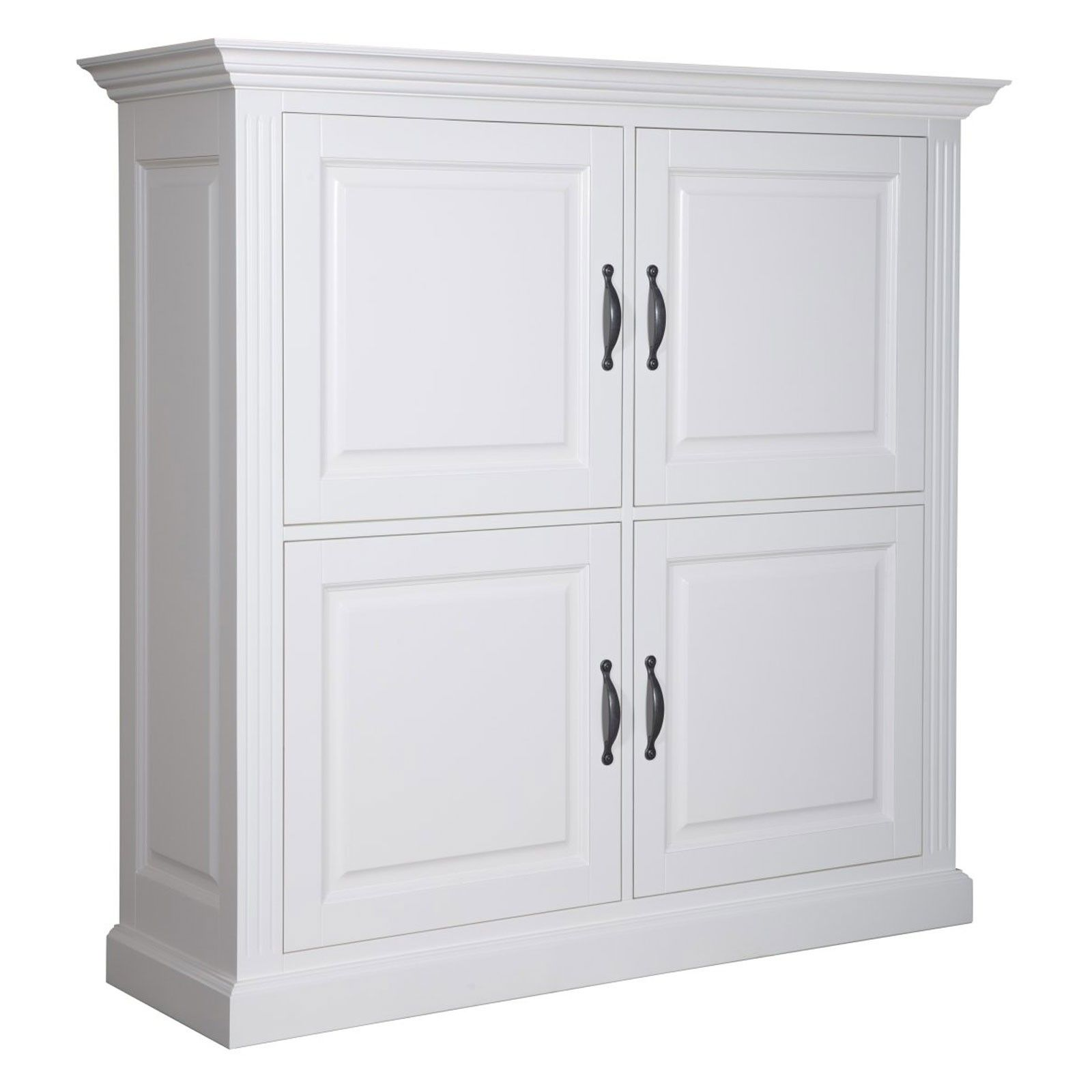 "Cabinet 4 portes ""Chic"" - achat cabinet blanc"
