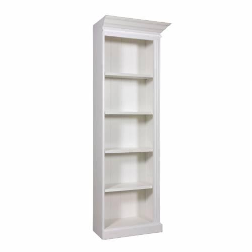 "Bibliothèque ""Chic"" - meuble blanc design chic"