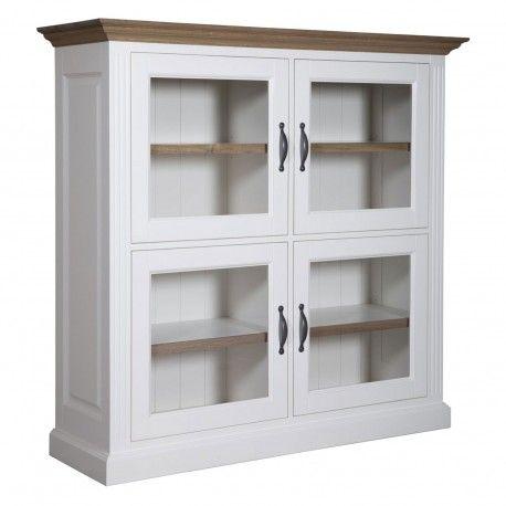 """Cabinet 4 portes """"Chêne et Pin Romance"""""""