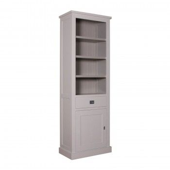 "Bibliothèque 1 porte 1 tiroir - tourne à gauche ""Kubic"" - achat bibliothèque"