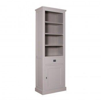 """Bibliothèque 1 porte 1 tiroir - tourne à droite """"Kubic""""- achat bibliothèque"""