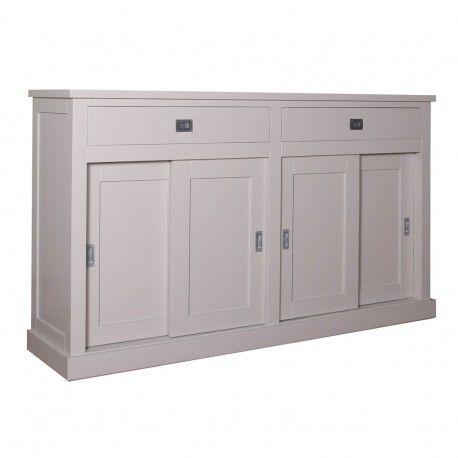 Bahut 4 portes 2 tiroirs | Pin Chic