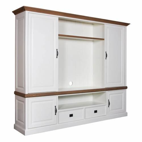 Meuble TV 2x2 portes 2 tiroirs achat grand meuble tv