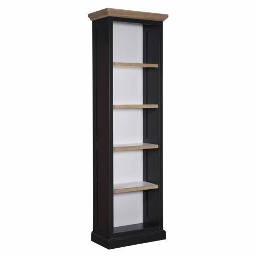 """Bibliothèque """"Chêne et Pin tradition"""" - bibliothèque noire"""