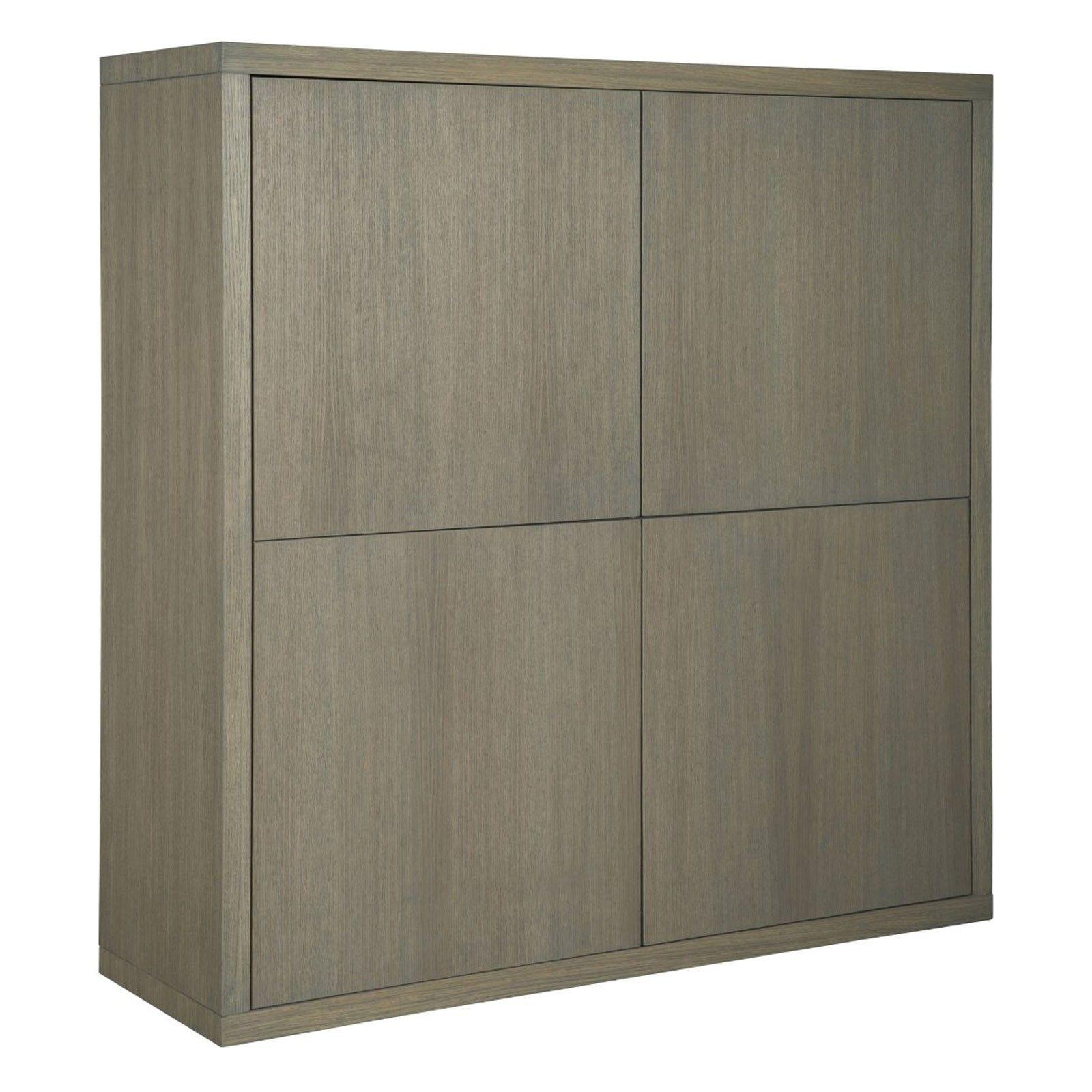 """Cabinet 2x2 portes """"Chêne Moderne"""" - cabinet moderne"""
