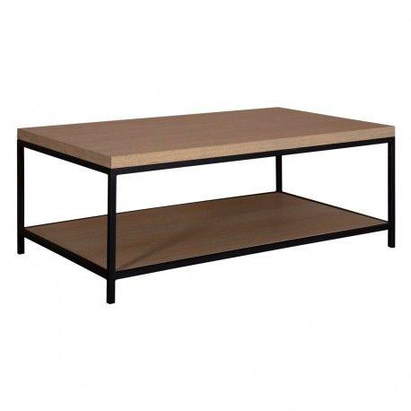"Table basse ""Chêne Moderne"""