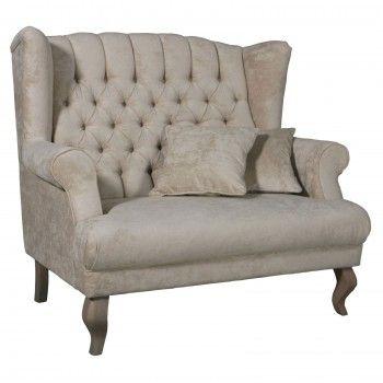 """Causeuse """"Eva"""" - meuble luxe"""