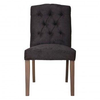 "Chaise ""Patricia"" - achat chaise noire"