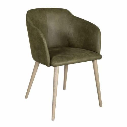 """Chaise """"Carter"""" - vert kaki"""