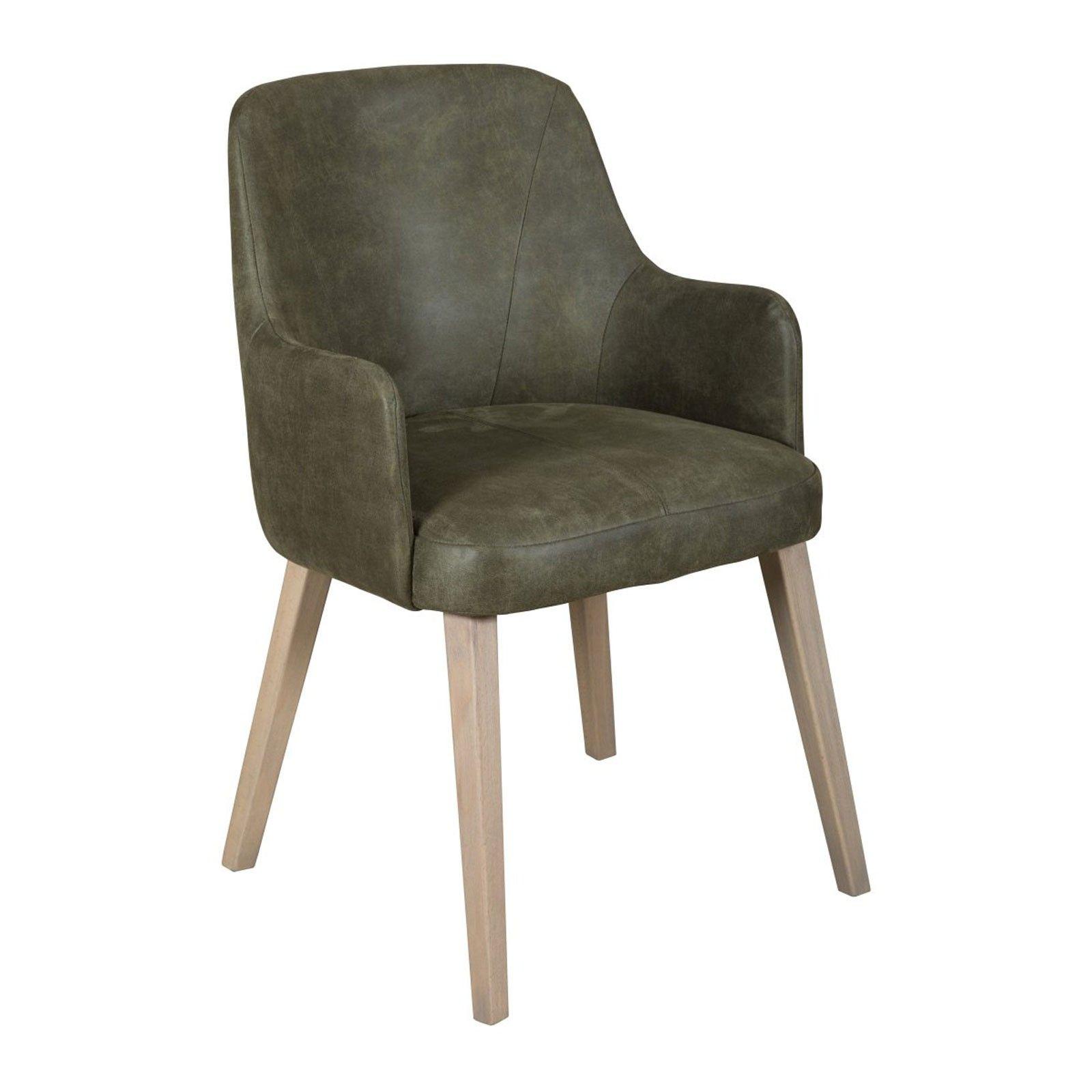 "Chaise ""Victoria"" - chaise verte"