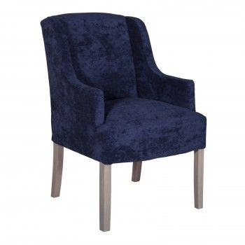 "Chaise noire haut de gamme ""Jill"""