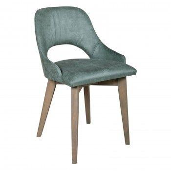 Chaise verte Maya