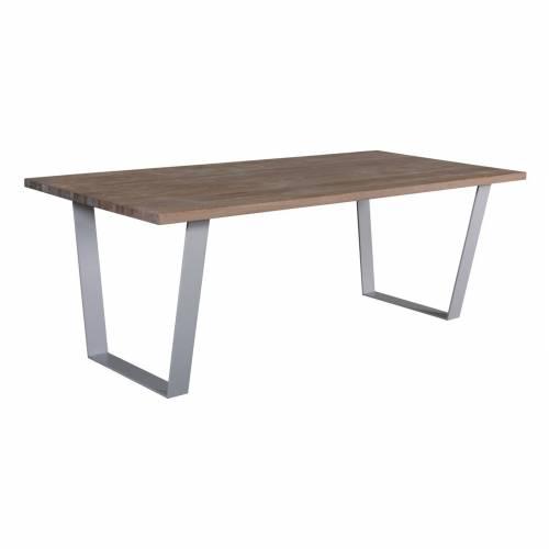 "Table à dîner 200 ""Chêne Country"" - table de salle à manger"