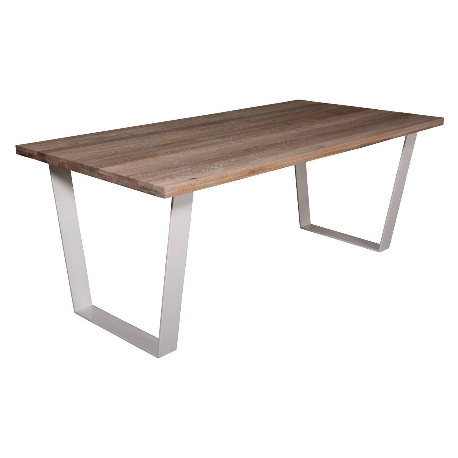 """Table à dîner 220 """"Chêne Country"""" - achat table de salle à manger"""