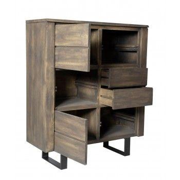 New york meuble haut - Meubles bois et chiffons ...