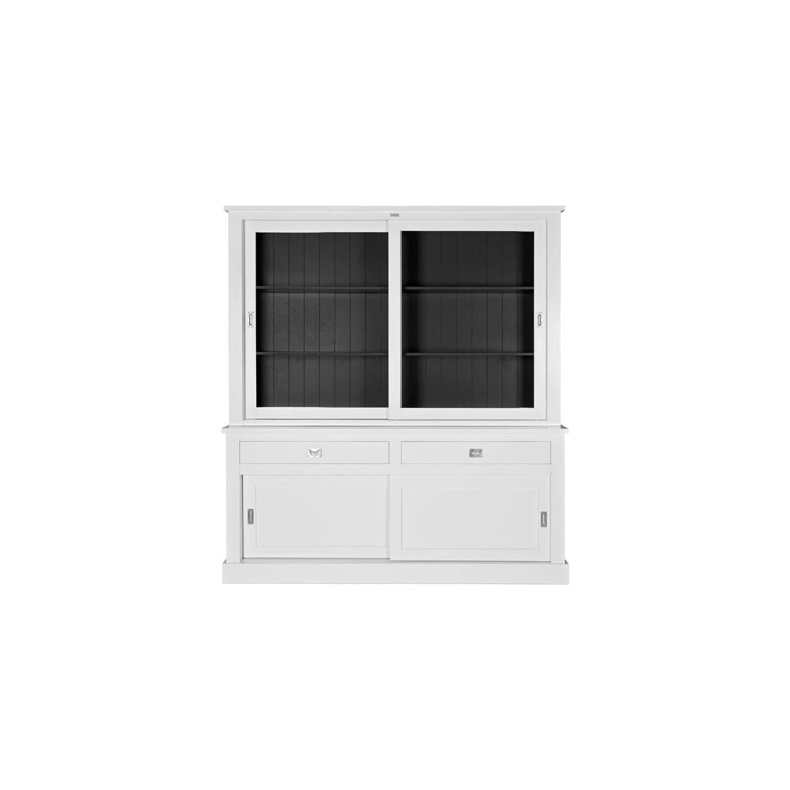 Buffet Vaisselier vitré Boxx 2x2-portes 2-tiroirs Vaisseliers - 7