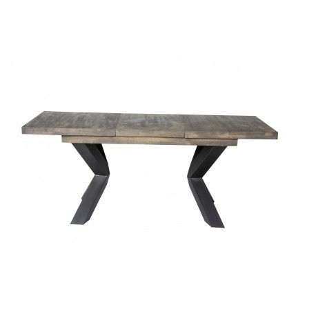 NEW YORK TABLE SEMI-HAUTE + ALLONGE