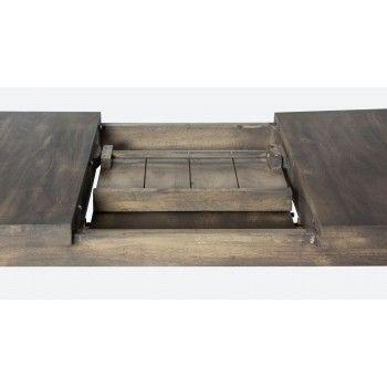 NEW YORK TABLE SEMI-HAUTE + ALLONGE Style - 341