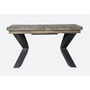 NEW YORK TABLE SEMI-HAUTE + ALLONGE Style - 253