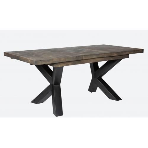NEW YORK TABLE SEMI-HAUTE + ALLONGE Style - 389
