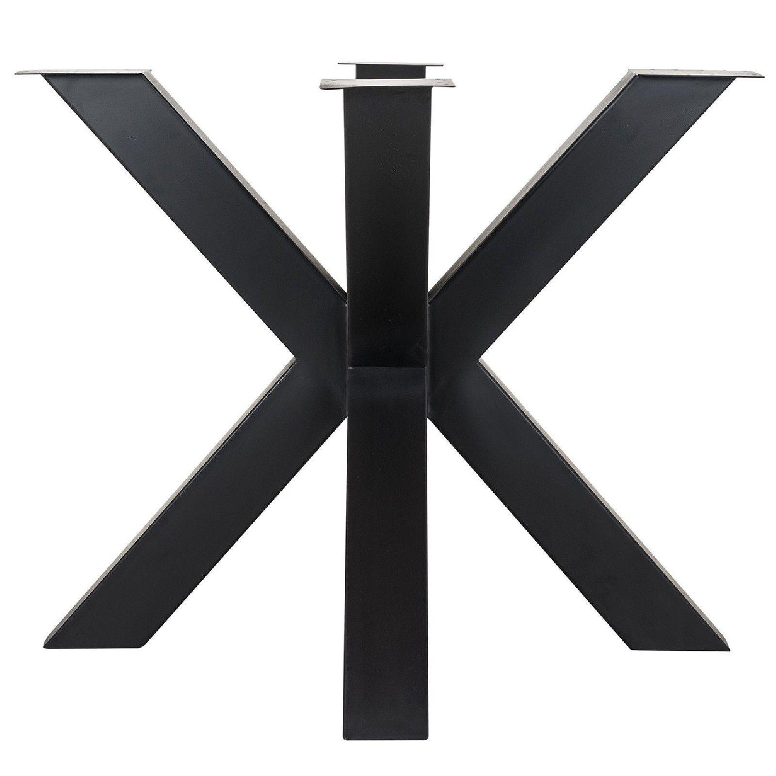 Pieds de table cross Bodhi Black Meuble Déco Tendance - 26