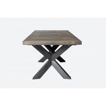 NEW YORK TABLE SEMI-HAUTE + ALLONGE Style - 412