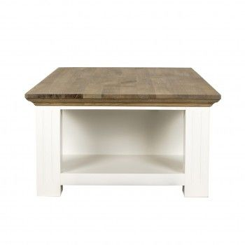 """Table basse 2 tiroirs """"Chêne et Pin Oakdale"""" Tables basses rectangulaires - 2"""
