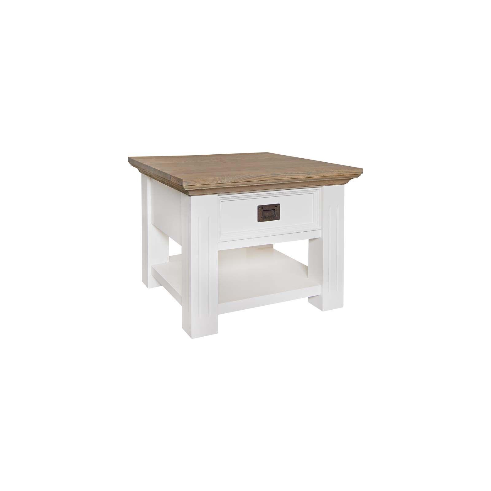 Table d'angle Oakdale 1-tiroir Meuble Déco Tendance - 1