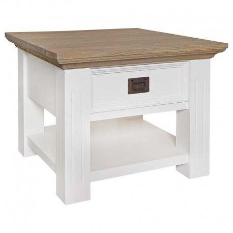 Table d'angle Oakdale 1-tiroir