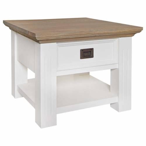 Table d'angle Oakdale 1-tiroir Meuble Déco Tendance - 2
