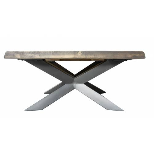 NEW YORK TABLE BASSE CARRÉE Style - 357