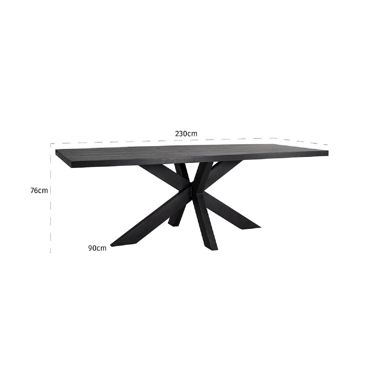 Plateau de table Oakura 230x95 Meuble Déco Tendance - 600