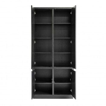 Cabinet Oakura 2x2-portes3 étagères au desssu - 1 étagère au fond Meuble Déco Tendance - 714