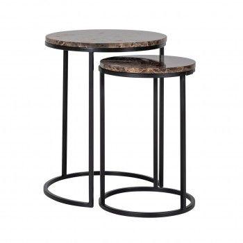 Table d'angle Dalton brown...