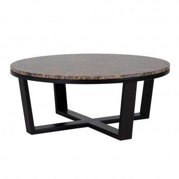 Table basse ronde 90Ø - Fer...