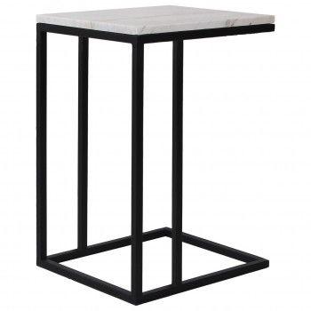 Table d'appoint Lexington white Meuble Déco Tendance - 1