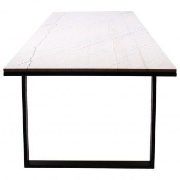 Table à dîner Lexington white 200x94 Meuble Déco Tendance - 789