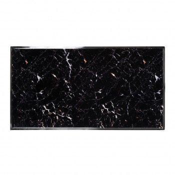 """Table basse rectangulaire - Plateau marbre noir """"Dante"""" Tables basses rectangulaires - 163"""